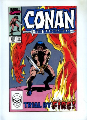 Conan the Barbarian #230 - Marvel 1990 - VFN+