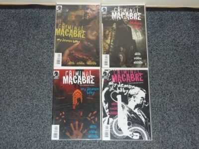 Criminal Macabre My Demon Baby #1 to #4 - Dark Horse 2007 - Complete Set