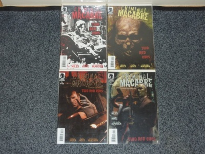 Criminal Macabre Two Red Eyes #1 to #4 - Dark Horse 2006 - Complete Set
