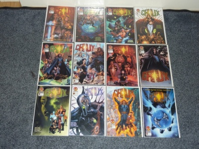 Crux #1 to #33 - Crossgen 2001 - Complete Set