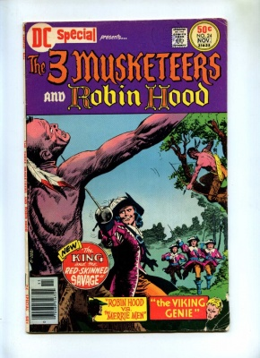 DC Special #24 - DC 1976 - 3 Musketeers - Robin Hood