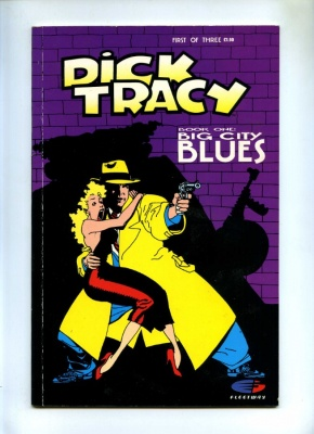 Dick Tracy #1 - Fleetway 1990 - Graphic Novel