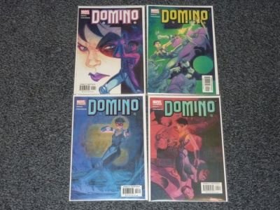 Domino #1 to #4 - Marvel 2003 - Complete Set