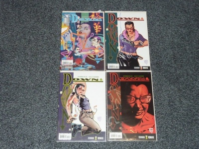 Down #1 to #4 - Image 2005 - Complete Set - Warren Ellis