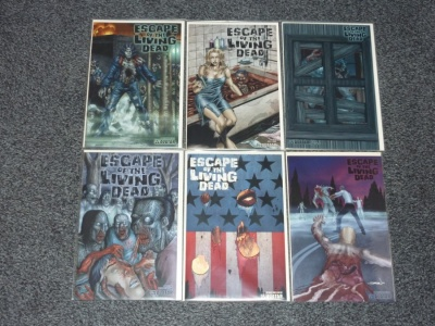 Escape of the Living Dead #1 to #5 + Annual #1 - Avatar 2005 - Set Adults Only