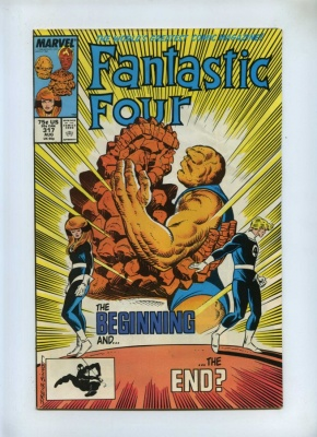 Fantastic Four 317 - Marvel 1988 - FN+ - Comet Man App
