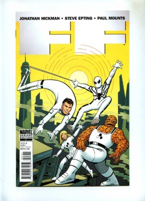 FF #1 - Marvel 2011 - NM Classic Artist Variant Cvr Stan Goldberg Fantastic Four