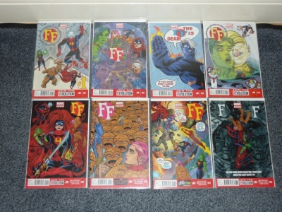 FF #1 to #16 - Marvel 2013 - VFN to NM - Complete Set - Fantastic Four