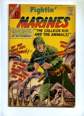 Fightin' Marines #73 - Charlton - 1967 - VG