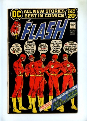 Flash #217 - DC 1972 - Green Lantern Green Arrow