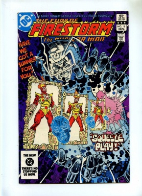 Fury of Firestorm 18 - DC 1983 - FN