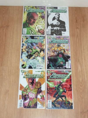 Green Lantern 1 to 11 Plus Variant 1 - DC 2011 to 2012 - VFN to NM - New 52 - 1st Prints and Variants - 12 Comics