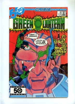 Green Lantern 194 - DC 1985 - NM - Hal Jordan Battles Guy Gardner