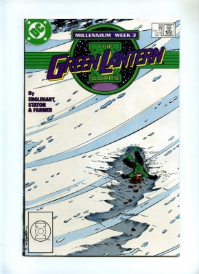 Green Lantern Corps 220 - DC 1988 - NM- - Millennium Tie-In