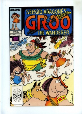 Groo The Wanderer #41 - Marvel 1988 - VFN/NM - Sergio Aragones