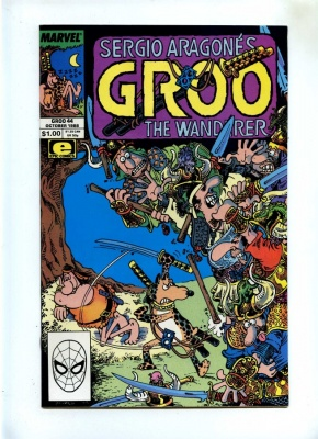Groo The Wanderer #44 - Marvel 1988 - NM- - Sergio Aragones