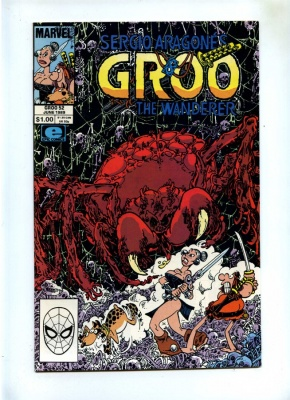 Groo The Wanderer #52 - Marvel 1989 - VFN/NM - Sergio Aragones