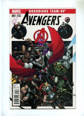 Guardians Team Up 1 - Marvel 2015 - FN/VFN - Marvel Collector Corps Age of Ultron Variant Cover - Avengers