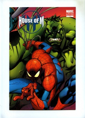 House of M #1 - Marvel 2005 - NM- - Spider-Man Hulk Cvr Variant Cvr Ltd Ed