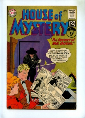 House of Mystery #124 - DC 1962
