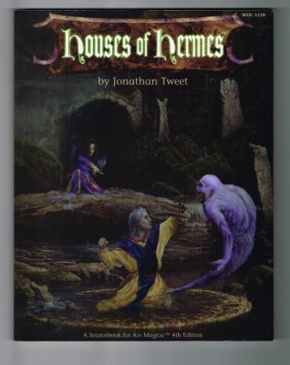 Houses of Hermes #1120 - Wizards of the Coast - Sourcebook for Ars Magica 4th Ed