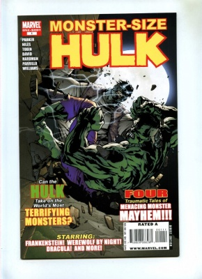 Hulk Monster-Size Special #1 - Marvel 2008 - One Shot - Incredible Hulk