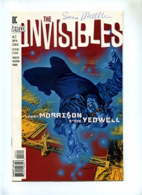 Invisibles #3 - Vertigo 1994 - VFN- - Signed Sean Phillips