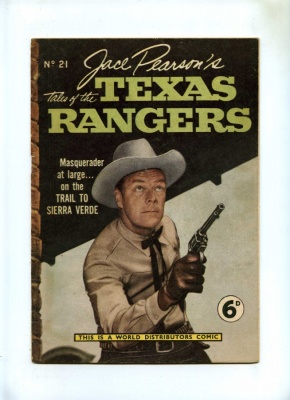 Jace Pearsons Tales of the Texas Rangers #21 - WDL 1954 - VG - Pence