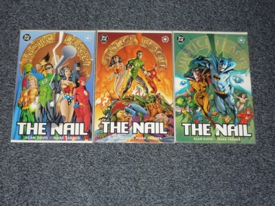 JLA The Nail #1 to #3 - DC 1998 - Complete Set - Prestige Format