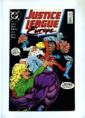 Justice League Europe #5 - DC 1989 - FN/VFN