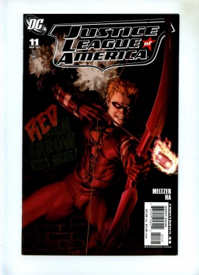 Justice League of America #11 - DC 2007 - VFN+ - Variant cover by Gene Ha