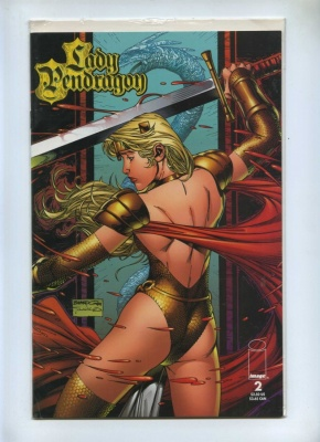 Lady Pendragon 2 - Image 1999 - NM- - Dynamic Forces Gold Foil Cover Ltd Series COA