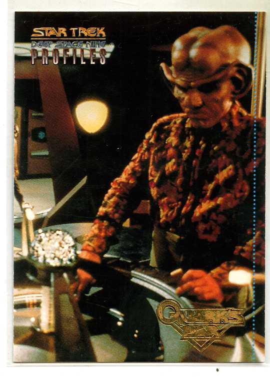 Star Trek DS9 Profiles Quark/'s Quips card 2 of 9