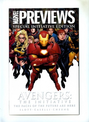 Marvel Previews #1 - Marvel 2007 - VFN/NM - Civil War - The Initiative