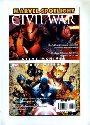 Marvel Spotlight Mark Millar Steve McNiven #1 - Marvel 2006 - VFN/NM - Civil War