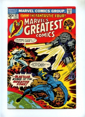 Marvel's Greatest Comics 45 - Marvel 1973 - FN - Fantastic Four
