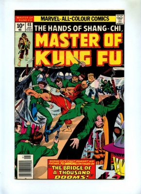 Master of Kung-Fu #48 - Marvel 1977 - Pence - Hands of Shang-Chi