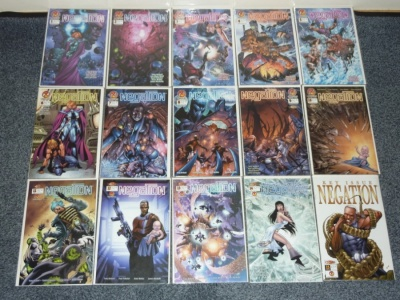 Negation #1 to #27 + 2 Specials CrossGen 2001 FN to VFN/NM Complete Set + Extras