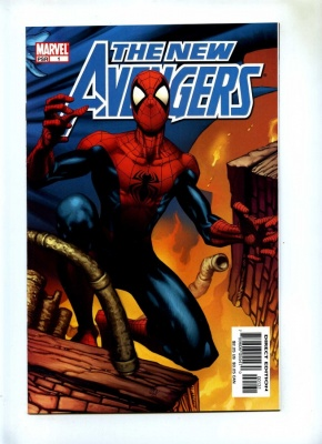 New Avengers #1 - Marvel 2005 - VFN+ - Steve McNiven Incentive Cover Spider-Man