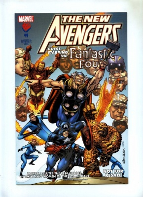New Avengers Pot of Gold #1 - Marvel 2005 - VFN/NM - America Supports You