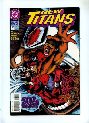 New Titans 103 - DC 1993 - VFN