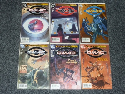 Omac Project #1 to #6 - DC 2005 - Complete Set - Batman - Infinite Crisis
