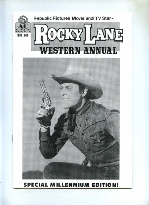 Rocky Lane Western Annual #1 - AC Comics 2000 - NM - Special Millennium Edition