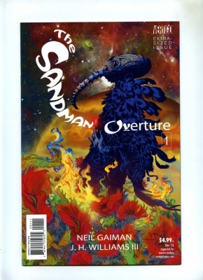 Sandman The Overture #1 - Vertigo 2013 - NM- - J H Williams III Variant Cover