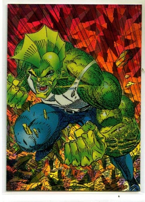 Savage Dragon Prism Card - P1 - Comic Images - Erik Larsen