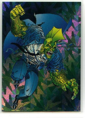 Savage Dragon Prism Card - P3 - Comic Images - Erik Larsen