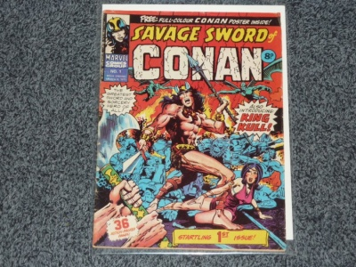 Savage Sword of Conan #1 - Marvel 1975 - No Poster