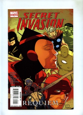 Secret Invasion Requiem #1 - Marvel 2009 - VFN+ - One Shot