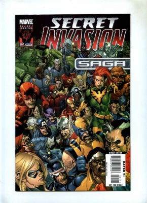 Secret Invasion Saga #1 - Marvel 2008 - FN - One Shot
