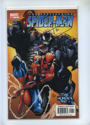 Spectacular Spider-Man 1 - Marvel 2003 - NM- - Dynamic Forces Ltd Series Signed Paul Jenkins